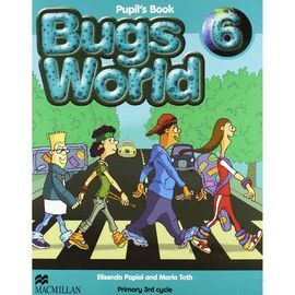 010 6EP BUGS WORLD PUPIL'S BOOK