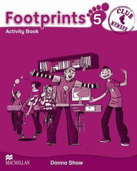 010 5EP FOOTPRINTS 5 ACTIVITY BOOK + PORTAFOLIO +2CD