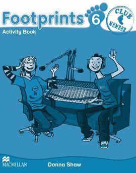 010 6EP FOOTPRINTS ACTIVITY BOOK (+PORTFOLIO, CD Y CD-ROM)