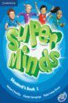 012 SB SUPER MINDS 1 + DVD LIBRO
