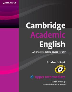 CAMBRIDGE ACADEMIC ENGLISH B2 UPPER INTERMEDIATE STUDENT'S BOOK