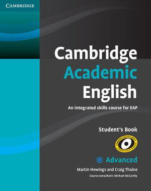012 CAMBRIDGE ACADEMIC ENGLISH STUDENT`S BOOK