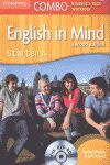 011 COMBO ENGLISH IN MIND STARTER A. STUDENT`S BOOK AND WORKBOOK