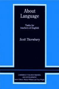 ABOUT LANGUAGE. TASKS FOR TEACHERS OF ENGLISH