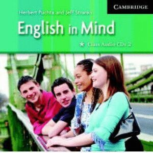 004 CD ENGLISH IN MIND (CLASS AUDIO CDS 2)