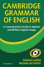 CAMBRIDGE GRAMMAR OF ENGLISH -A COMPREHENSIVE GUIDE. TAPA DURA