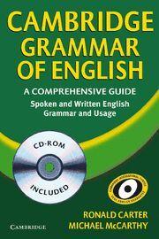 CAMBRIDGE GRAMMAR OF ENGLISH + CD -A COMPREHENSIVE GUIDE. RUSTICA