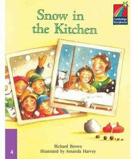 SNOW IN THE KITCHEN -LEVEL 4 PRE-INTERMEDIATE