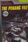 PENANG FILE, THE + CD - STARTER/BEGINNER