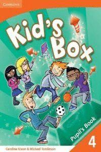 008 -KID'S BOX LEVEL 4 PUPILS BOOK