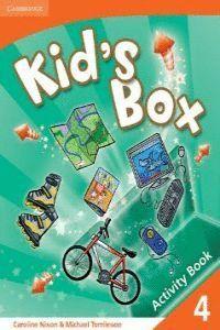 008 -KID'S BOX. LEVEL 4 ACTIVITY BOOK