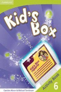 009 KID'S BOX 6 ACTIVITY BOOK