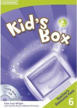 010 6EP KID`S BOX TEACHER¦S RESOURCE PACK (+CD-AUDIO)