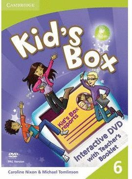 DVD KID`S BOX 6 WITH TEACHER`S BOOKLET