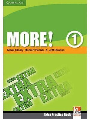 08 -MORE¡ 1.  EXTRA PRACTICE BOOK