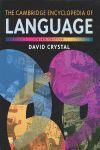 CAMBRIDGE ENCYCLOPEDIA ENGLISH LANGUAGE, THE