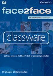 DVD FACE 2 FACE PRE-INTERMEDIATE STUDENT`S BOOK CLASSWARE