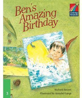 BEN`S AMAZING BIRTHDAY - STORYBOOKS LEVEL 3 (ELEMENTARY)
