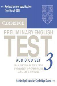 CD /PRELIMINARY ENGLISH TEST AUDIO CD SET 3