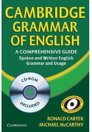 CAMBRIDGE GRAMMAR OF ENGLISH + CD -A COMPREHENSIVE GUIDE...