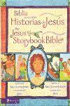 BIBLIA PARA NIÑOS. HISTORIAS DE JESUS BILINGUE (ING-ESPA)
