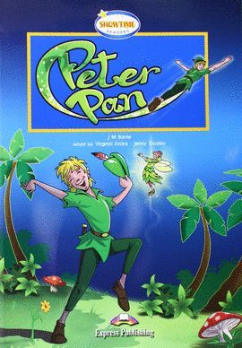 PETER PAN -SHOWTIME READERS +CD