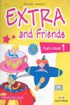 011 1EP EXTRA AND FRIENDS PUPIL¦S BOOK