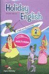 011 2EP HOLIDAY ENGLISH (+CD)