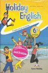 011 6EP HOLIDAY ENGLISH (+CD)