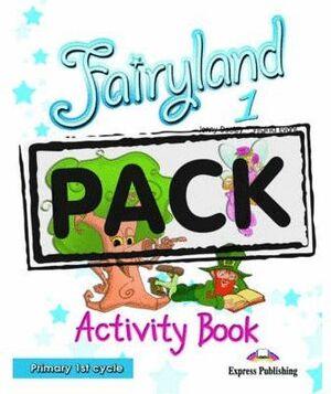 *** 008 1EP FAIRYLAND ACTIVITY BOOK +CD