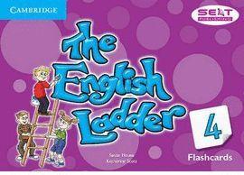 THE ENGLISH LADDER 4 - FLASHCARDS