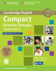 014 SB+WB COMPACT FIRST FOR SCHOOLS WITHOUT ANSWERS PACK