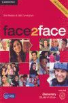 012 SB FACE 2 FACE. ELEMENTARY STUDENTS BOOK + DVD