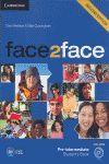 012 SB FACE 2 FACE PRE-INTERMEDIATE STUDENTS BOOK + DVD