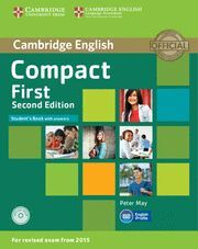 COMPACT FIRST STUDENT'S BOOK WITH ANSWERS WITH CD-ROM 2ND EDITION