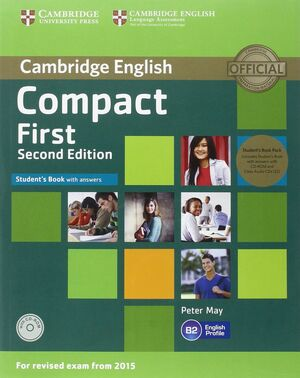COMPACT FIRST STUDENTS PACK (STUDENTS BOOK WITH ANSWERS / WORKBOO