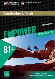 020 SB B1 EMPOWER INTERMEDIATE STUDENT'S BOOK WITH ONLINE ASSESSMENT AND