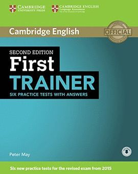 015 FIRST CERTIFICATE TRAINER PRACTICE TEST.WITH ANSWERS+ 3CDS