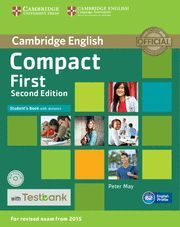 015 COMPACT FIRST STUDENT'S BOOK WITH ANSWERS WITH CD-ROM WITH TESTBANK 2ND EDITION