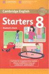 STARTERS 8 SB -CAMDRIDGE ENGLISH