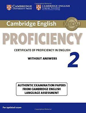 SB CAMBRIDGE ENGLISH PROFICIENCY  2  WITHOUT ANS