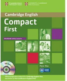 013 WB COMPACT FIRST B2 WITHOUT ANSWERS +CD