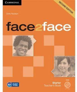 013 FACE 2 FACE STARTER TEACHERS BOOK + DVD