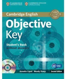 013 SB OBJECTIVE KEY (A2) -CAMBRIDGE ENGLISH