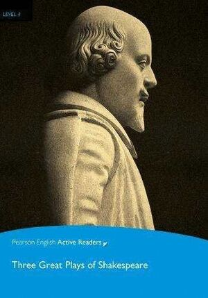 THREE GREAT PLAYS OF SHAKESPEARE (+CD) LEVEL4