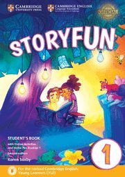 019 STORYFUN FOR STARTERS LEVEL 1 STUDENT'S BOOK WITH ONLINE ACTIVITIES AND HOME FUN
