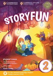 017 SB STORYFUN FOR STARTERS LEVEL 2 WITH ONLINE ACTIVITIES AND HOME FUN