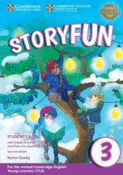 019 3EP SB STORYFUN FOR MOVERS B LEVEL 3 WITH ONLINE ACTIVITIES