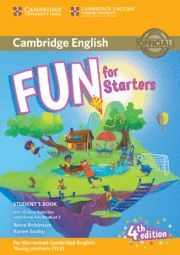017 FUN FOR STARTERS STUDENT'S BOOK WITH ONLINE ACTIVITIES WITH AUDIO AND HOME FUN B