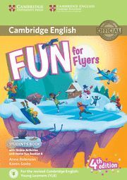 017 FUN FOR FLYERS STUDENT'S BOOK WITH ONLINE ACTIVITIES WITH AUDIO AND HOME FUN BOO